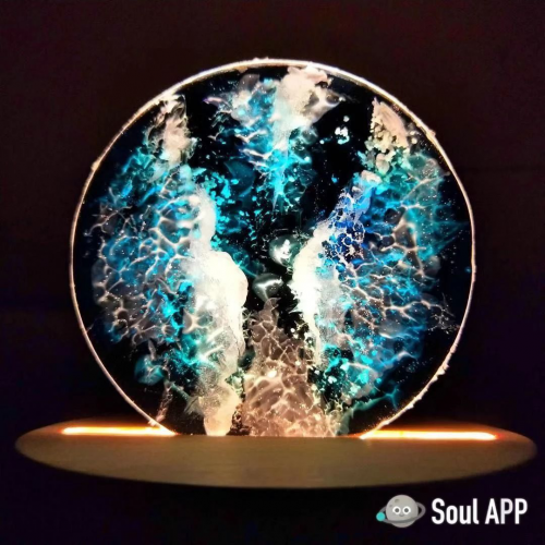 颜值逆天、才华惊人的Soul用户 30元做出雪山、星空、大海