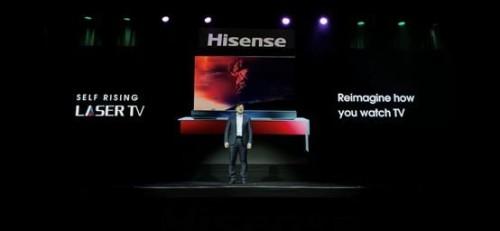 探索激光电视未来,CES上以创新的名义为国争光!