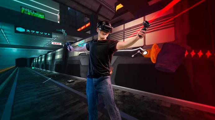 爱奇艺发布奇遇2Pro VR体感游戏机 6Dof应用打造身临其境的动感游戏升维体验