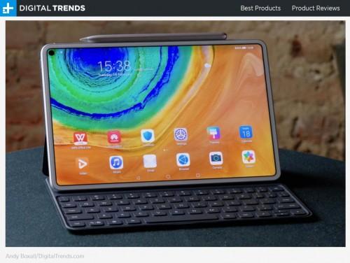 外媒点赞!看华为平板MatePad Pro 5G如何重构安卓平板生态体验