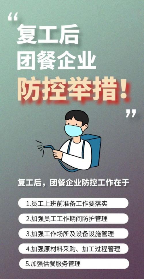 中国烹饪协会联合禧云国际发布团餐企业复工操作指南