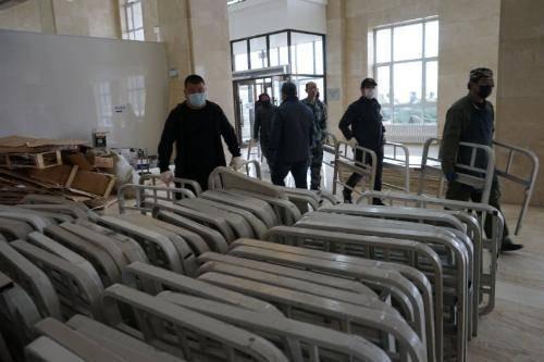 绥芬河方舱医院预计11日启用 可提供600张床位