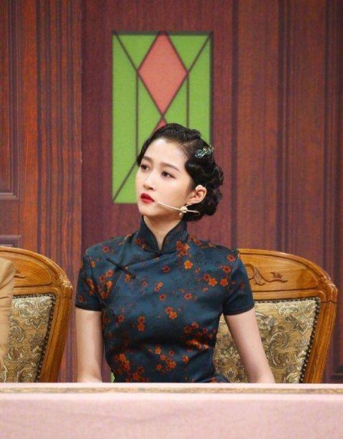 关晓彤旗袍造型怎么回事 关晓彤旗袍造型是什么节目第几期