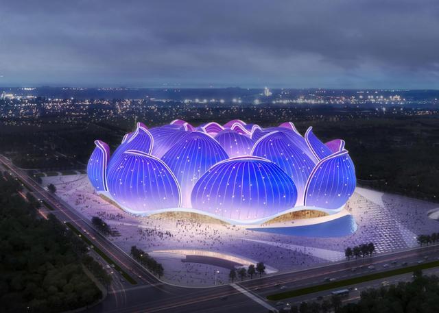 恒大新足球场亮相 顶级大师设计方案曝光 太惊艳了!