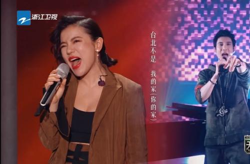 天赐的声音苏有朋江映蓉合作《绿色》夺酷我音乐当期歌榜头名