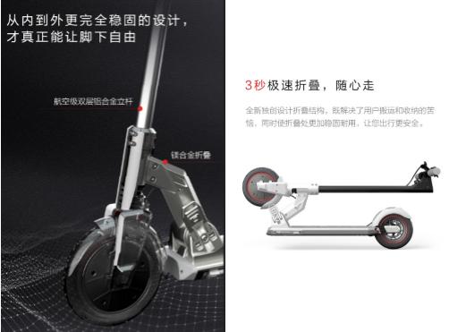 短途出行新方式 踏青购物新选择 联想滑板车M2让你享受生活好时光