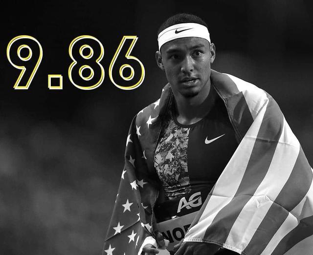 欧国联赛事竞猜-9秒86!美国田径22岁天才百米夺冠提升0.41秒创赛季世界第一