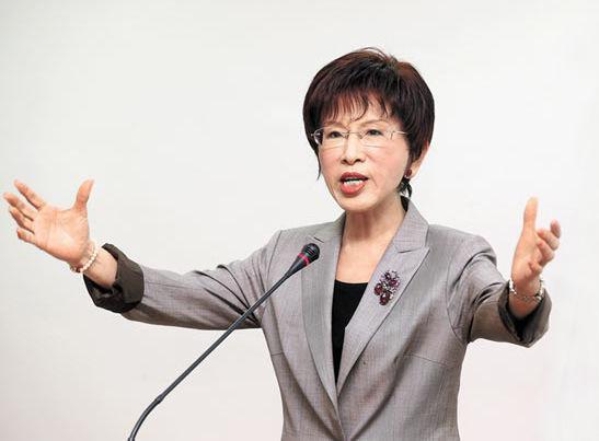 """洪秀柱谈统一目标:""""台独""""不是选项 国民党别怕别甩锅"""
