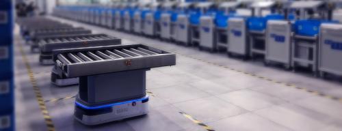 极智嘉推出四款全新AMR,打造更全面的搬运解决方案