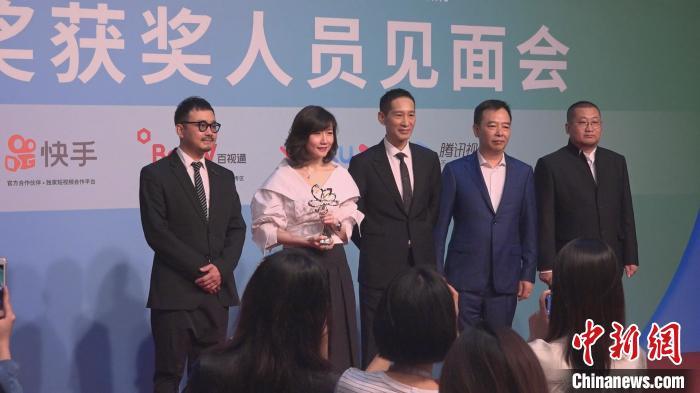 《破冰行动》获得最佳中国电视剧奖 康玉湛 摄