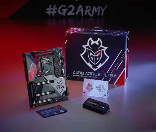 用实力助威G2战队,技嘉Z490 G2联名主板开启促销活动