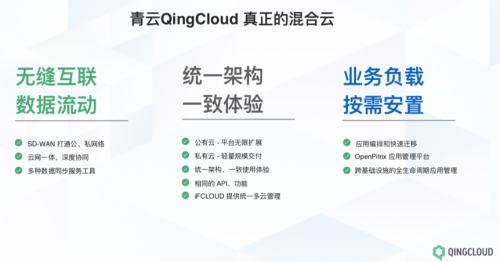 打造真正混合云 青云QingCloud为中国的混合云树立典型
