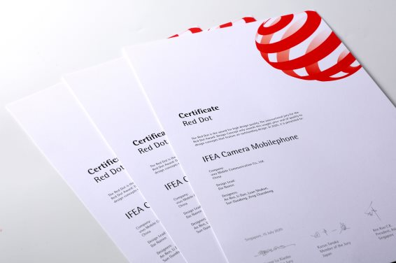 vivo IFEA 分离式镜头设计荣获2020红点设计概念大奖
