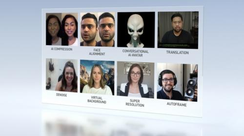 NVIDIA宣布推出云AI视频流平台Maxine,让数百万远程工作与学习实现更好的连接