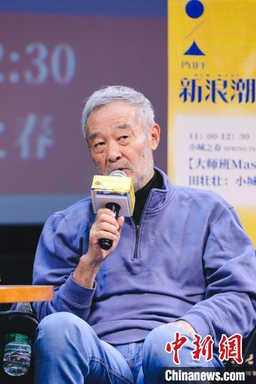 中国导演田壮壮。组委会提供