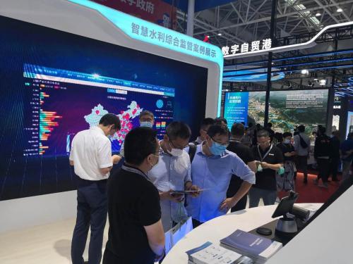小鱼易连亮相数字中国建设峰会 云视频助力智慧水利
