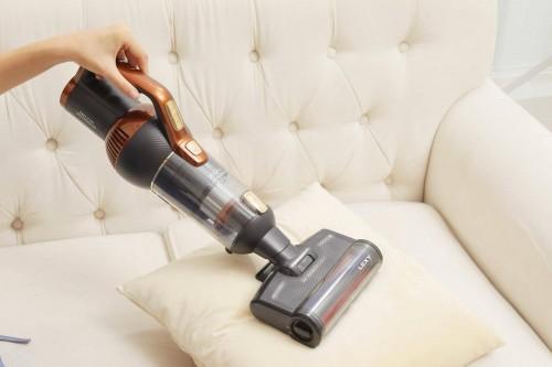 大扫除很费事 大吸力长续航,莱克立式吸尘器带你轻松清洁