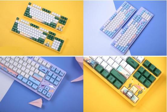 「光年」&「童趣」▎达尔优A87主题版机械键盘与您再度相约