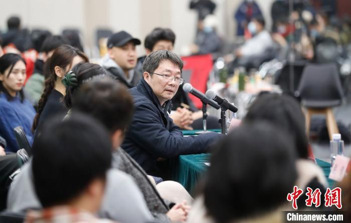 中国国家话剧院副院长白雪峰 杜洋 摄