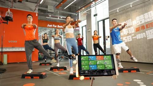 快快第二代智能健身系统,推动传统健身的智能化变革