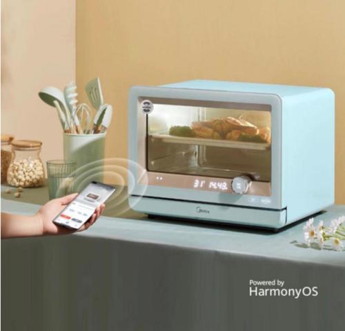 美的与HarmonyOS强强联合,共同布局万物互联时代