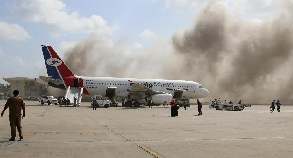 也门亚丁机场发生剧烈爆炸还传出枪声 已致25死超110伤