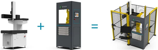 海克斯康3S 柔性智能工作站,应对多品种小批量生产