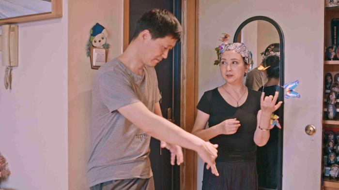 张萍和丈夫关於