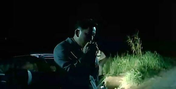 《无间道Ⅱ》里廖启智吹口琴一幕被视为经典 图片来源:视频截图