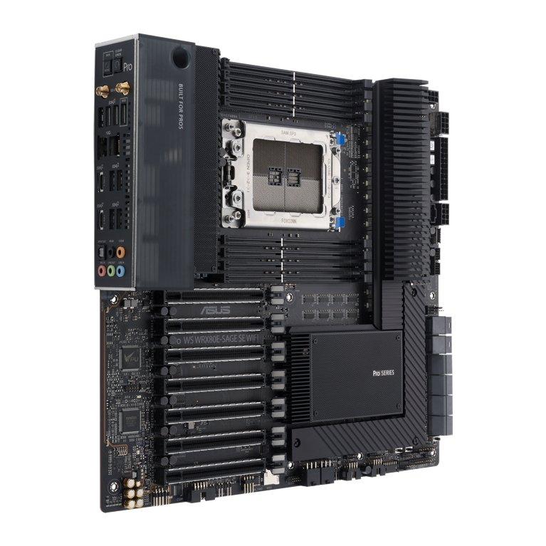 华硕发布WRX80主板 为AMD锐龙Threadripper PRO设计