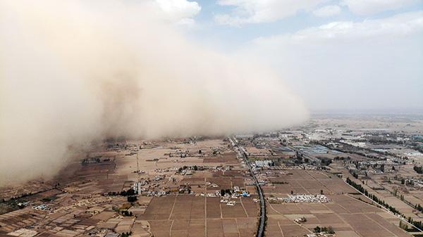 """沙尘天气再次""""返场"""",专家:今年沙尘暴较同期偏多2.1次"""