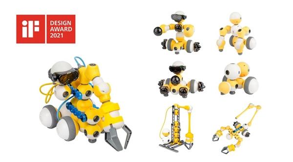 贝尔机器人编程中心:Mabot和Thunbot荣获德国iF设计大奖
