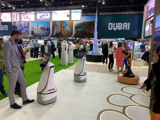 """特斯联TITAN机器人亮相ATM 2021,吹响全球""""群智化""""AI服务前哨"""