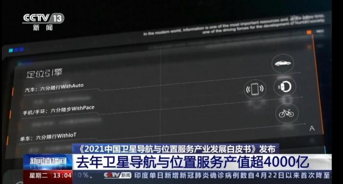 中国卫星导航与位置服务产业发展白皮书发布 六分科技助力北斗产业蓬勃发展