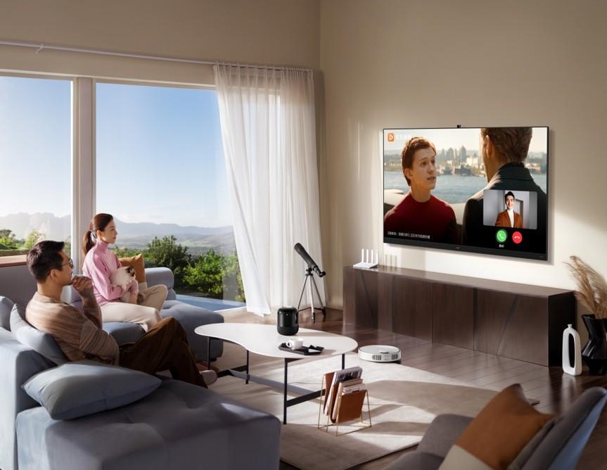 把客厅变为聊天室,新一代华为智慧屏V系列解锁通话新姿势