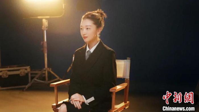 演员周冬雨。 上海国际电影节组委会 供图