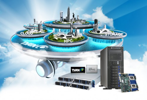 TYAN在2021在线展览展示支持AMD EPYC处理器的新款服务器