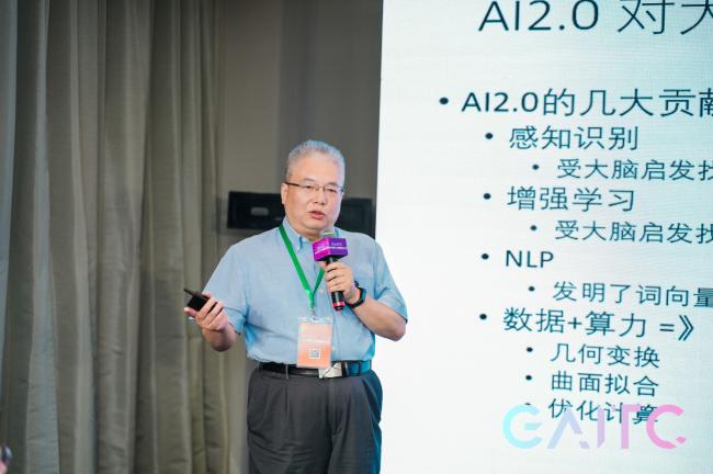 GAITC 2021智媒专题论坛 曹立宏:AI和BI互助发展 智能媒体任重道远