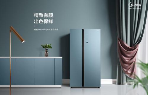 """美的首款支持HarmonyOS Connect 冰箱初体验:""""碰一碰""""能碰出什么样的新生活"""
