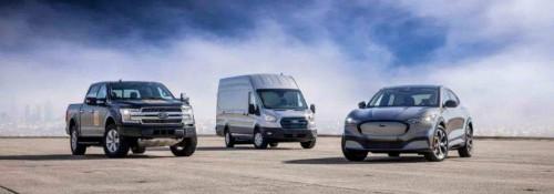 福特汽车E-Transit科技升级,搭载最新车载互联技术