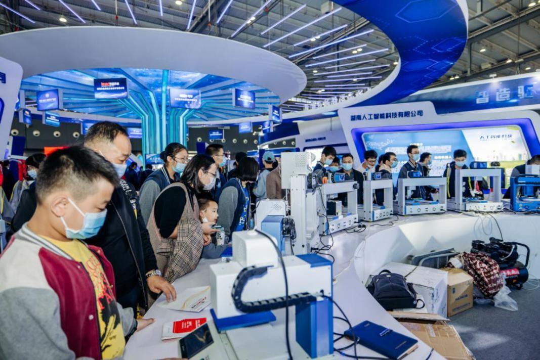 网红长沙再秀硬科技实力,第二届中部(长沙)人工智能产业博览会7月23日开幕!