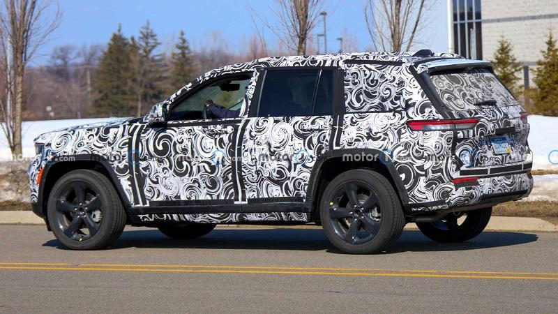 前瞻技术,全新Jeep大切诺基