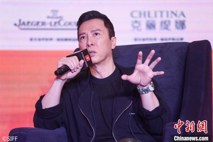 电影学堂:甄子丹大师班。 上海国际电影节 供图