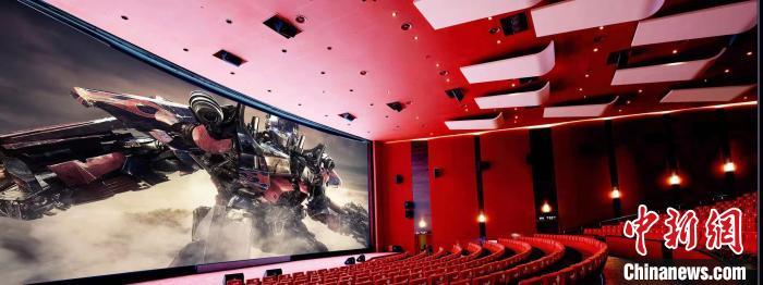 上海影城的CINITY厅实景图 CINITY供图