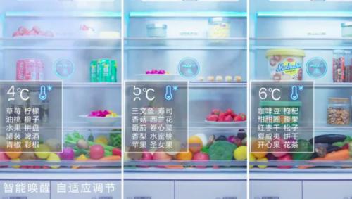 美的微晶冰箱
