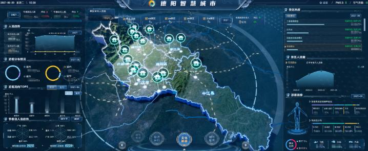 """中国系统推动德阳数字政府转型 """"城市大脑""""正式上线"""