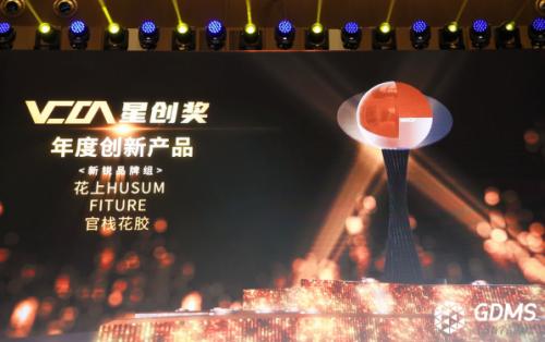 GDMS全球数字营销峰会圆满落幕,FITURE魔镜首届VCON星创奖年度创新产品大奖